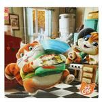 Vladi Toys Kittens Soft Puzzles Board Game A4