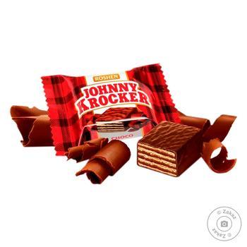 Roshen Johnny Krocker Chocolate Waffle Sweets