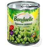 Vegetables pea Bonduelle green canned 200g can