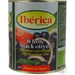olive Iberica black canned 3100ml can