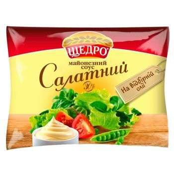 Schedro Salad Mayonnaise Sauce 30% 190g - buy, prices for CityMarket - photo 1
