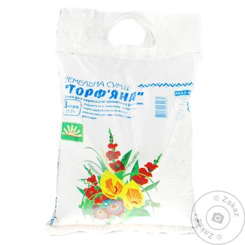 Peat Soil Mix 3l - buy, prices for Auchan - photo 1