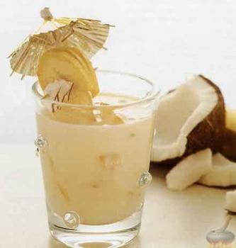 Теплый милкшейк с кокосом и кардамоном