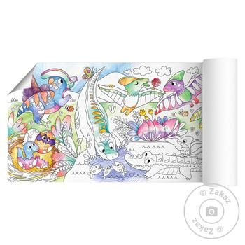 DoDo Coloring Poster Dinosaurs - buy, prices for MegaMarket - image 2