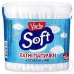 Ватные палочки Varto Soft косметические 200шт