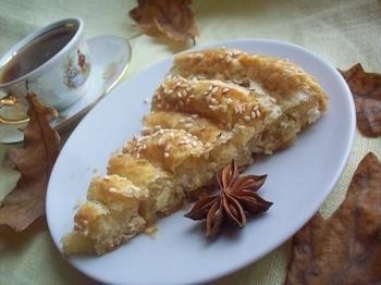 Сирний пиріг-равлик