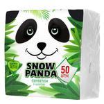 Snow Panda White Double-layer Table Napkins 50pcs