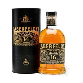 Виски Aberfeldy 16 лет 0,7л в тубусе - купить, цены на Novus - фото 2