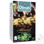 Чай Dilmah Вишня и миндаль черный цейлонский ароматизированный в пакетиках 20*1,5г