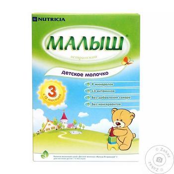 Смесь молочная Малыш Истринский 3 Детское Молочко для детей с 12 месяцев 320г