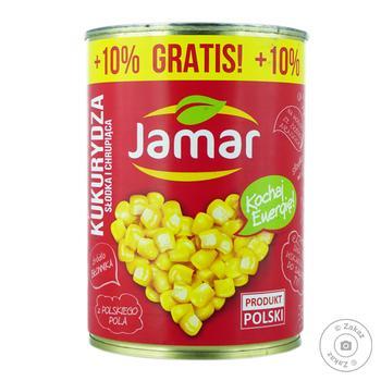Кукурудза консервована Jamar 400г - купити, ціни на Фуршет - фото 1