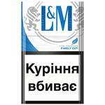 Цигарки L&M Blue Label