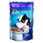 Корм Felix Fantastic З ягням у желе для дорослих котів 100г