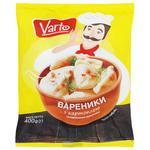 Вареники Varto з картоплею заморожені 400г