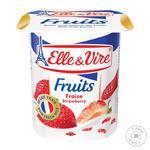Десерт молочный Elle&Vire клубника 1,5% 125г