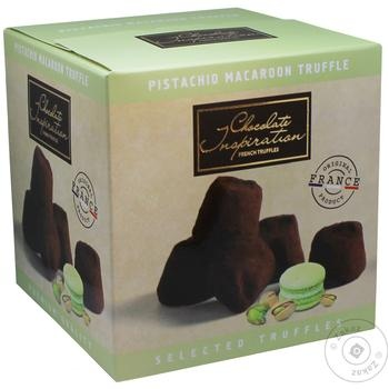 Chocolate Inspiration Pistachio macaroon French truffles 200g - buy, prices for Novus - image 1