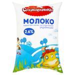 Молоко Смаковеньки пастеризованное 2,6% 900г