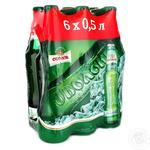 Пиво Оболонь Светлое 6 бутылок по цене 5 бутылок 6*0,5л