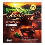 Чай чорний Лісма Індійський Міцний в пакетиках 100*1,8г