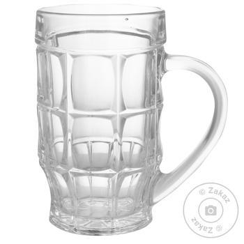 Кружка ОСЗ Пинта для пива 0,5л - купить, цены на Ашан - фото 1
