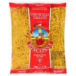 Riscossa Vermicelli Tagliati No.70 Pasta 500g - buy, prices for CityMarket - photo 1