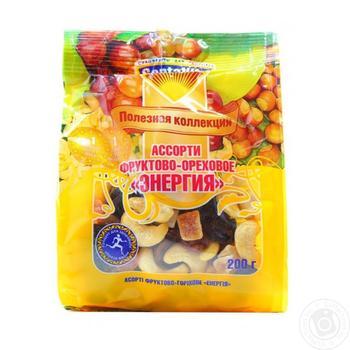 Асорті Santa Vita Енергія фруктово-горіхове 200г - купити, ціни на Ашан - фото 2