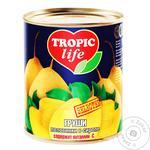 Груши Tropic Life половинки в сиропе 850мл