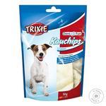 Лакомство для собак Trixie Пластинки для чистки зубов со спирулиной Denta Fun 50г