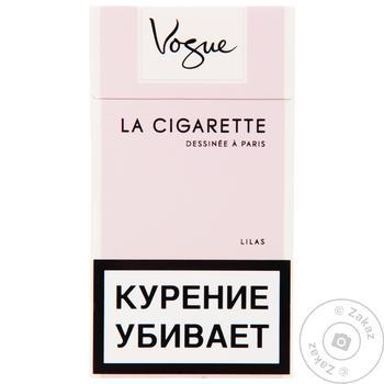 Цигарки Vogue Lilas Ultra Light - купити, ціни на Восторг - фото 2