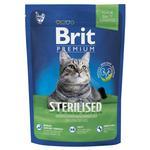 Корм Brit Premium для стерилізованих котів 300г