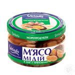М'ясо Мідій в олії з прянощами Veladis 200г - купити, ціни на Novus - фото 1