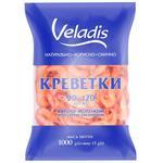 Креветки 90-120 варено-морожені Veladis 1000г - купити, ціни на Varus - фото 1