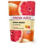 Крем-мило Fresh Juice Grapefruit дой-пак 460мл - купити, ціни на Novus - фото 1