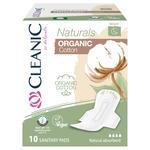 Прокладки гігєнічні Claenic Naturals Organic Cotton нічні 10шт