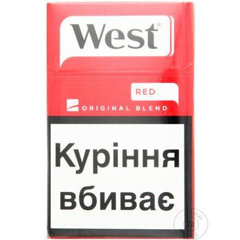 Сигареты West Red Original Blend