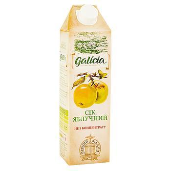 Сок Galicia яблочный 1л - купить, цены на Восторг - фото 1
