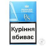 Сигареты Parker&Simpson Blue - купить, цены на Метро - фото 1