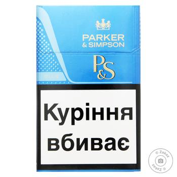 Сигареты Parker&Simpson Blue - купить, цены на Ашан - фото 1