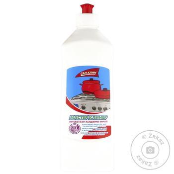 Средство д/мытья плит Мастер Клинер 0,5л - купить, цены на Фуршет - фото 1