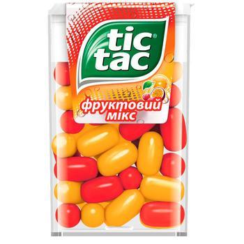 Драже Tic Tac Фруктовый микс 16г - купить, цены на Восторг - фото 1