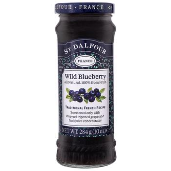 St.Dalfour Wild Blueberry Jam 284g - buy, prices for Auchan - photo 1