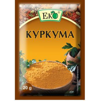 Куркума Еко 20г - купити, ціни на ЕКО Маркет - фото 1