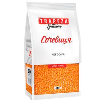 Чечевица красная Trapeza 500г - купить, цены на Varus - фото 1