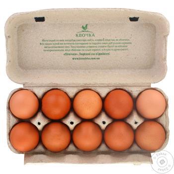 Яйца Квочка Домашние куриные С0 10шт - купить, цены на Восторг - фото 3