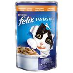 Корм Felix Fantastic З індичкою у желе для дорослих котів 100г
