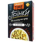 Грінки Crunch Time пшеничні з сіллю 100г