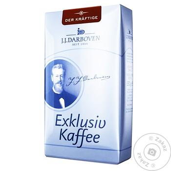 Кофе Exklusiv kaffee Darboven Der kraftige зерновой 250г