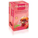Чай Alokozay 100% натуральний цейлонський чорний Полуниця пакетований 25шт 50г