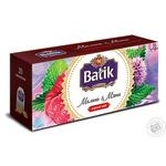 Batik Black Tea with raspberry and mint 20pcs 1.5g