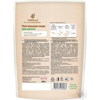 Средство Tortilla для смягчения воды при стирке 400г - купить, цены на Ашан - фото 2